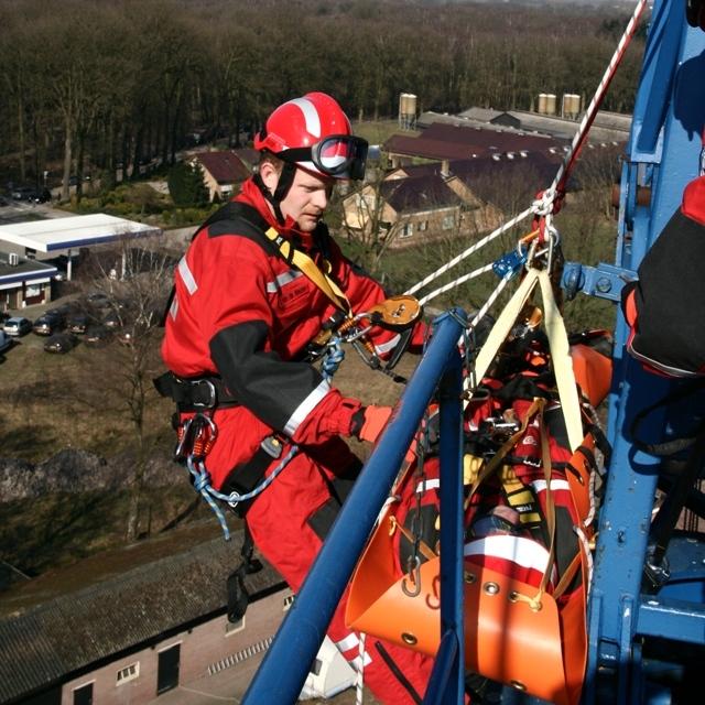 Rescue Of A Tower Crane