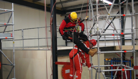 Working safely at heights course